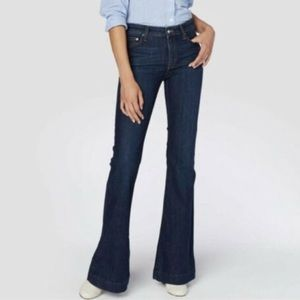 Derek Lam 10 Crosby Noah Mid Rise Sexy Flare Jeans
